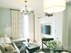 【高清】小夫妻107平美式温馨3居室
