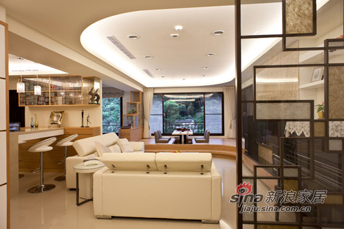 �裼�A弧造型的天花板造型,��g接�艄��染