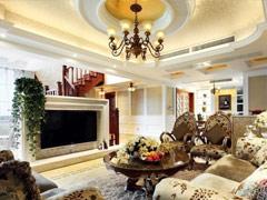 低调奢华200平米新古典复式居家