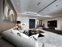 【高清】148平自然舒适现代3居室