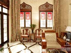 新悦庭别墅装修中式风格案例