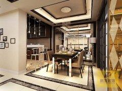 恒大绿洲三居室现代风格设计