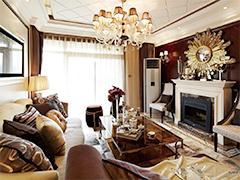 【高清】100平后现代奢华三居室装修设计