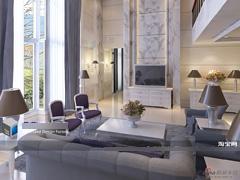 《新古典主义的美艳》别墅设计  装修设计