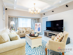 【高清】143平美式时尚温馨3居室
