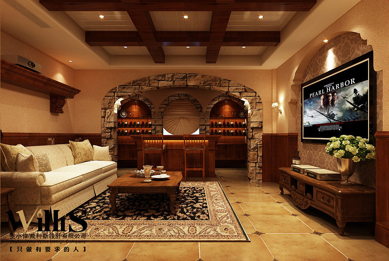 美墅馆别墅——美式古典风格图片
