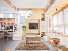 【高清】超清爽70平日式素雅loft