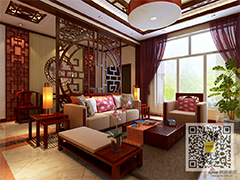 300平中式风格独栋别墅