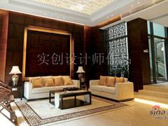 42万打造汀湘十里别墅420�O中式风格别墅装修设计案例
