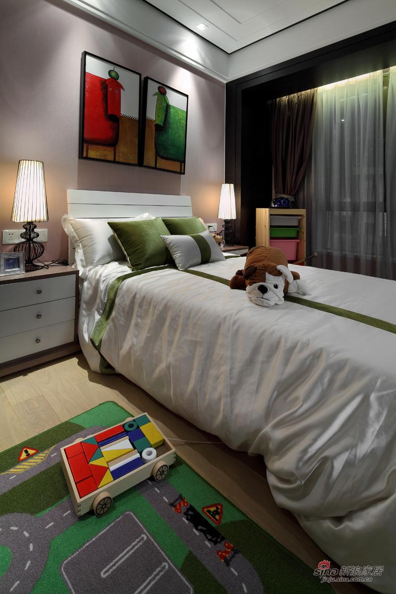 可爱又沉稳的卧室