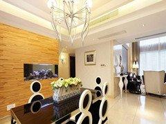 现代奢华120平三居室华丽丽