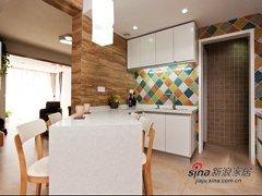 6.5万装修85平方北欧简洁之家