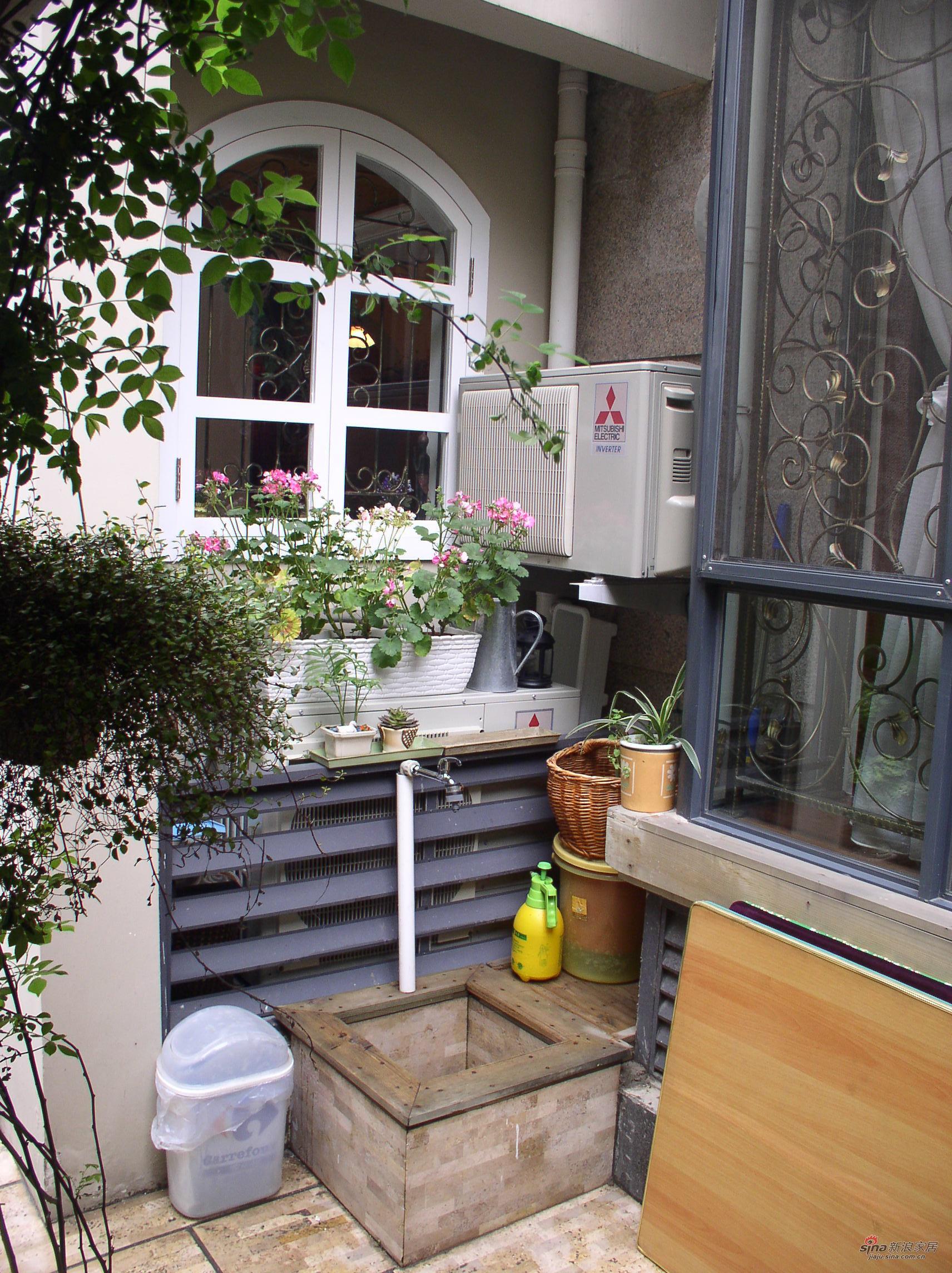 样板间 【高清】150平美式乡村闲时3居 室外小花园-清新自然 享受惬意图片