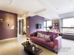 【高清】100平现代简约时尚两居室