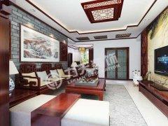 北宁湾-3室2厅2卫1厨-125�O-中式风格