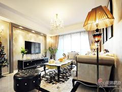 【高清】148平欧式典雅时尚3居室