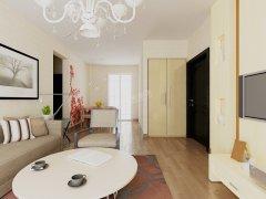 卫津领寓 96.24�O A户型 2室2厅1卫1厨 现代风格