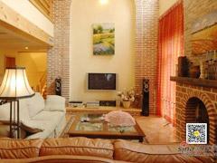 【多图】小汤山350平米汤HOUSE美式乡村古典风格联排别墅装修实景图