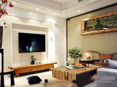 【高清】140平新中式雅致3居室