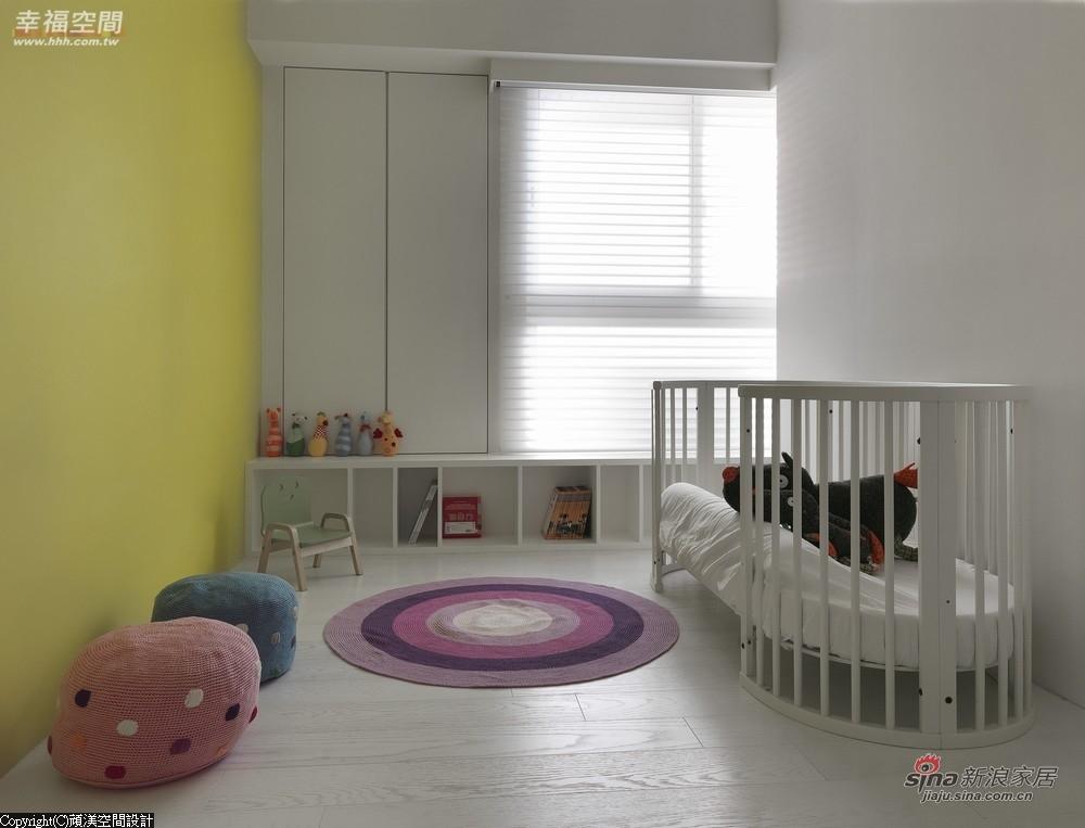 芥黄色墙面规划,小孩房不单调