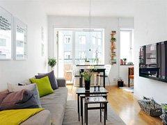 温馨小户49平3.6万造单身公寓