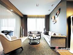 【高清】140平简洁现代时尚3居室
