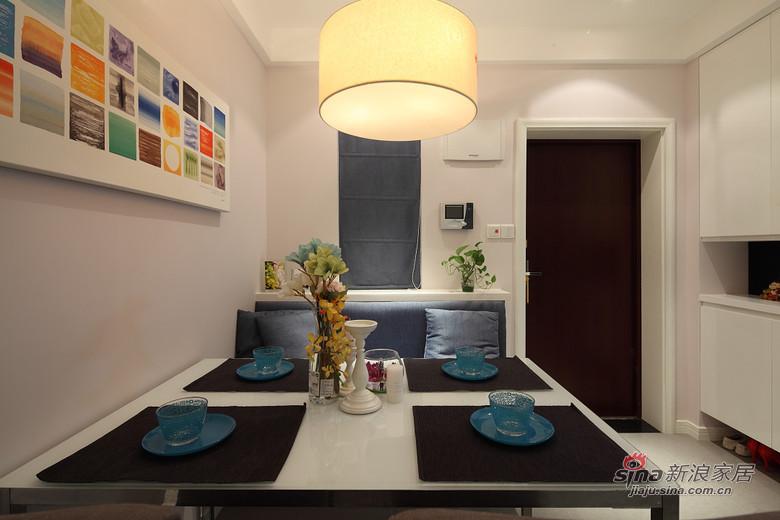 招商雍华府96平三居室简约风格装修设计实