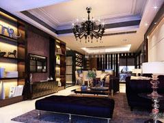 12.8万全包万博汇130平现代风格三居室