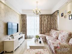 【高清】87平韩式田园舒适两居室