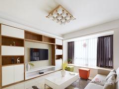【高清】119平清新明亮现代3居室