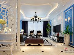 首席设计师打造观澜国际155平地中海豪华的高端之家