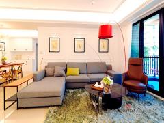 【高清】品味110平现代新古典3居室