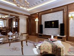 中年老板20万打造中式古典居室