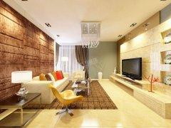 卫津领寓90.82�O B户型 2室2厅1卫1厨 现代风格