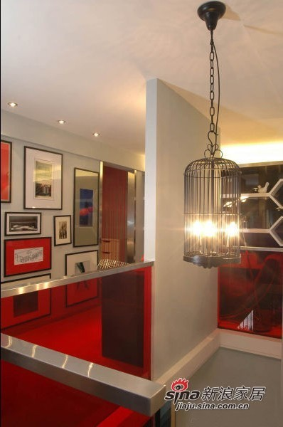 血拼6万装88平现代感3居室高清图片