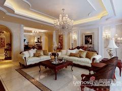 220平米大户型 金碧辉煌-新古典风格