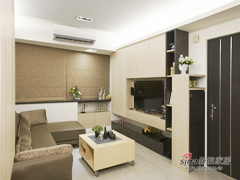【高清】110平现代休闲风格3居室