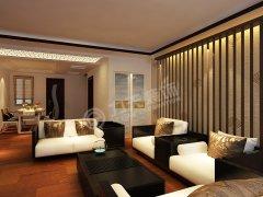 渤海天易园134�O 现代中式 三室一厅一厨两卫