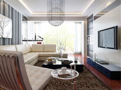 【多图】60平小两居现代风格装修案例设计方案