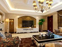 设计师打造别墅设计保利心语四居室