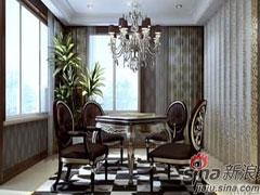 新贵主义风格―天津780平恬园别墅