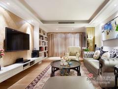20万华丽打造150平新古典中式居