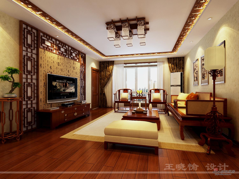 造170平传统中式风格高清图片