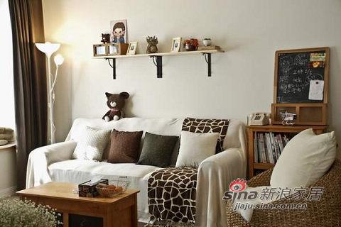 很可爱的鹿纹沙发