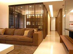 【高清】木质温润铺排的132 平宅邸空间