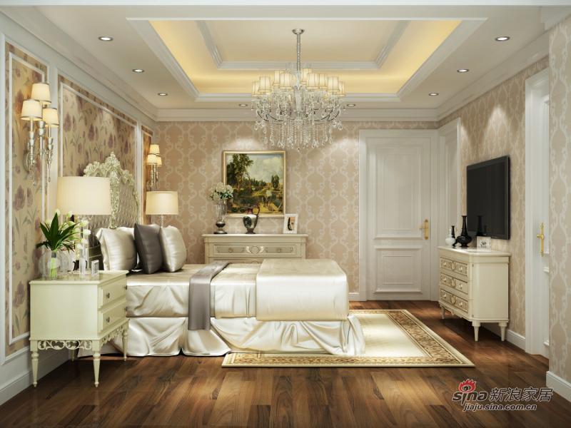 仁恒海河花园新古典风格别墅装修设计