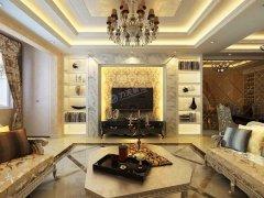 天山��玺一期叠排别墅下一层3室2厅3卫126�O-欧式风格