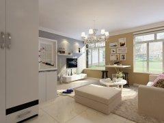 水岸银座60.00�O两室一厅一厨一卫-现代风格
