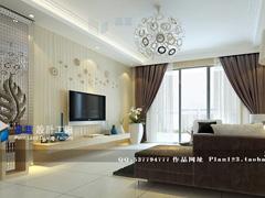 《雅致空间》--现代简约三房两厅130平米