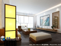 慢品时光现代中式四房两厅155平米